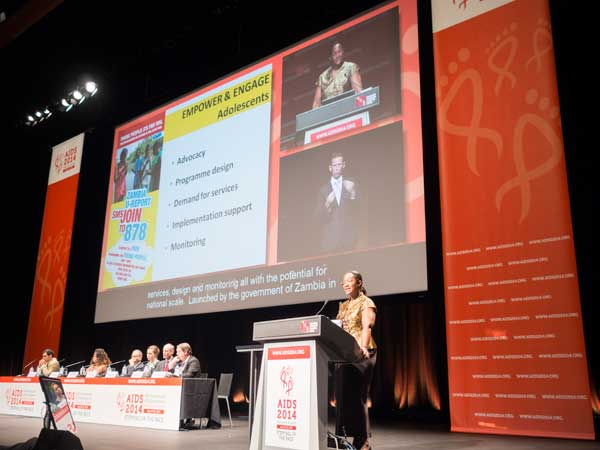 AIDS 2014 Conference - Stepping Up The Pace